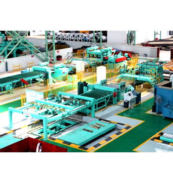 High Speed Uncoiling-Leveling-Cut to length- Stacking Line