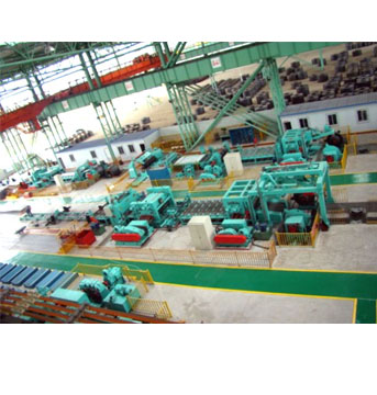HR Coil Uncoiling - Leveling - Cut to Length - Stacking Line